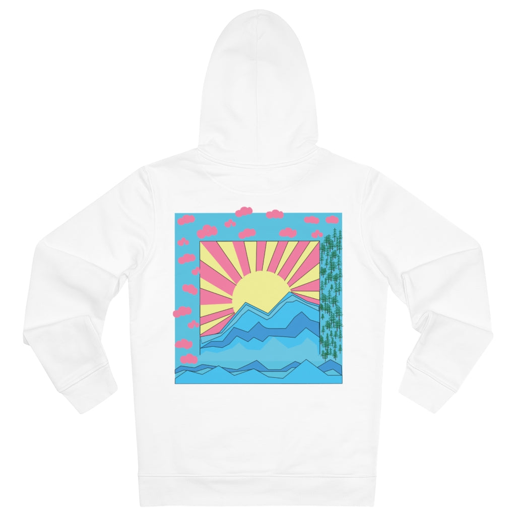 COLORFUL SUNRISE HOODIE // MULTI COLOR