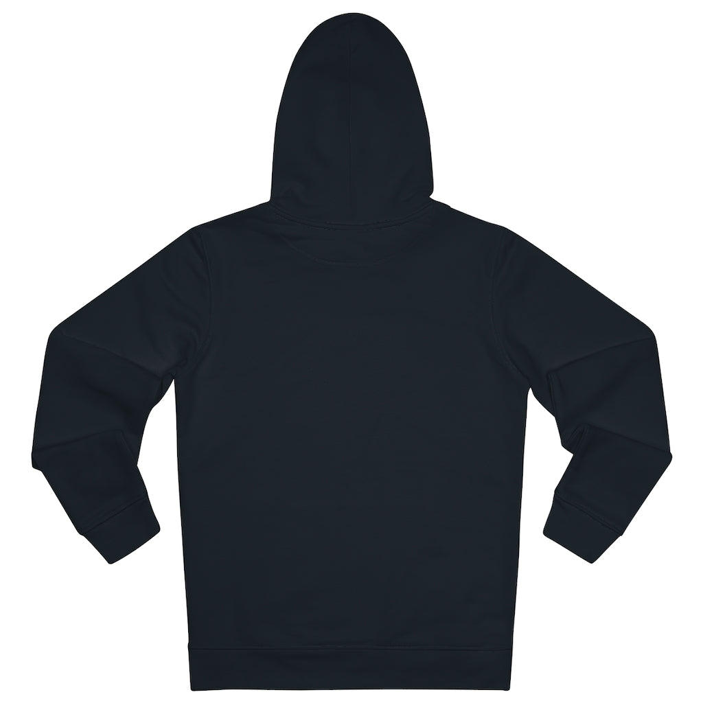 JNGL Clothing - The Vintage Hoodie // Black - Back (stock)