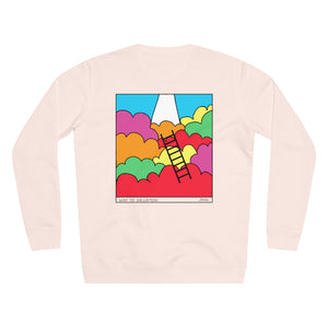 JNGL Clothing - Way To Salvation Sweater // Candy Pink - Back (Stock)