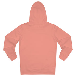 JNGL Clothing - The Vintage Hoodie // Salmon & Rosewood // Sunset Orange - Back (stock)