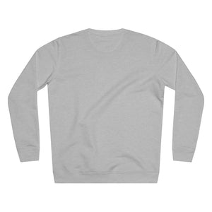 JNGL Clothing - The Vintage Sweater // Grey & Fossil // Heather Grey - Back (stock)