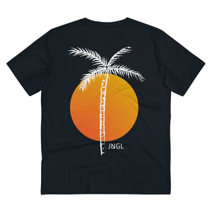 JNGL Clothing - Palm Tree T-Shirt // Black - Back
