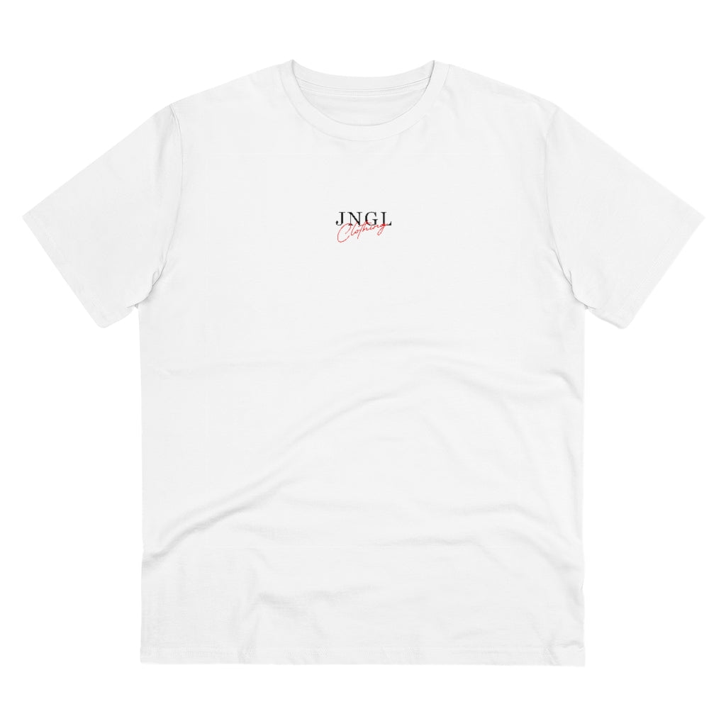 JNGL Clothing - Surflife T-shirt - White - Stock Front
