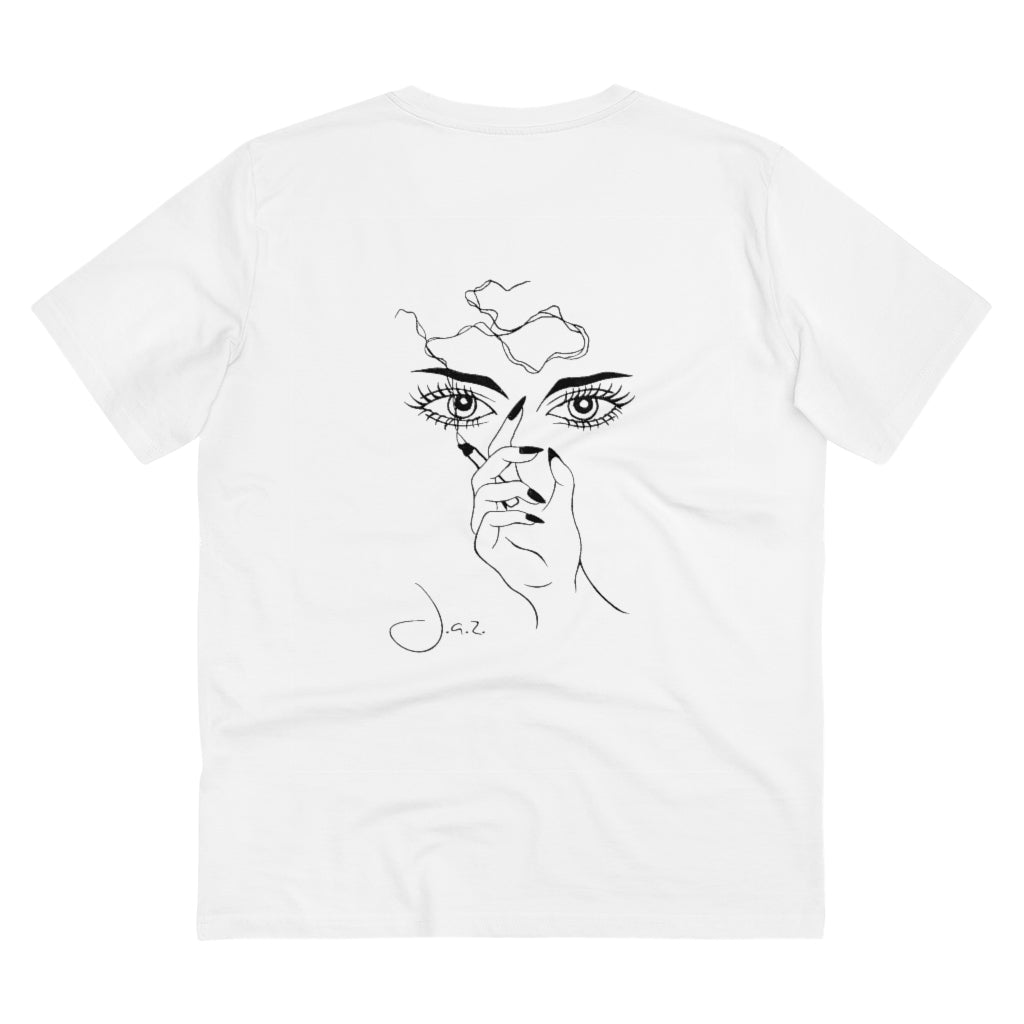 JNGL Clothing - Masterpiece of Art T-Shirt // White - Back