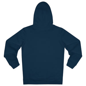 JNGL Clothing - The Classic V1 hoodie // French Navy - Back (stock)