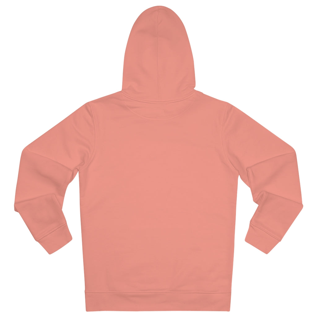 JNGL Clothing - The Classic V1 hoodie // Sunset Orange - Back (stock)