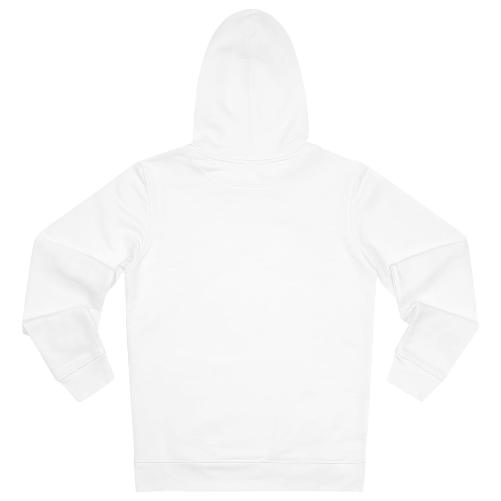 JNGL Clothing - The Vintage Hoodie // White - Back (stock)