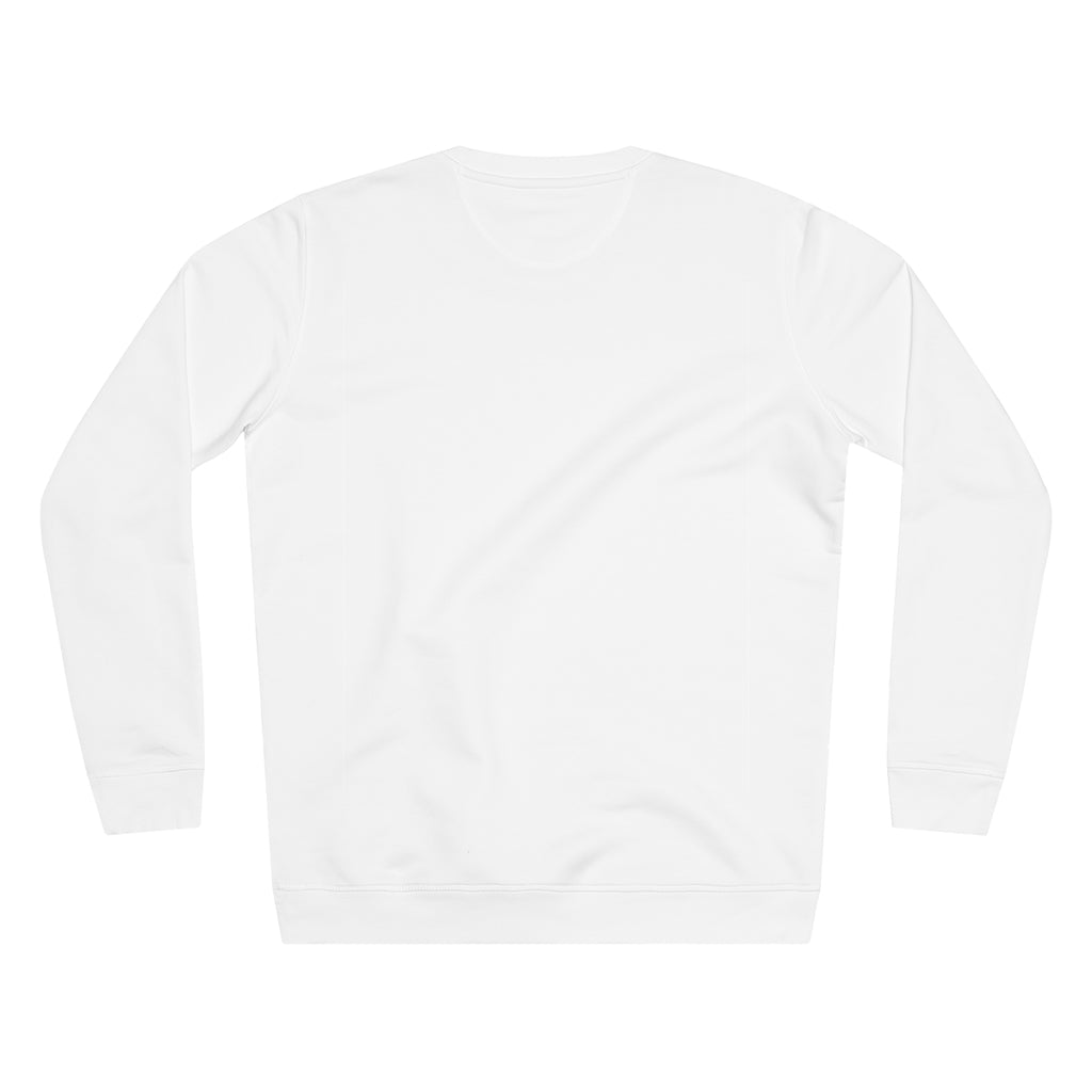 JNGL Clothing - The Classic V1 Sweater // White - Back (Stock)