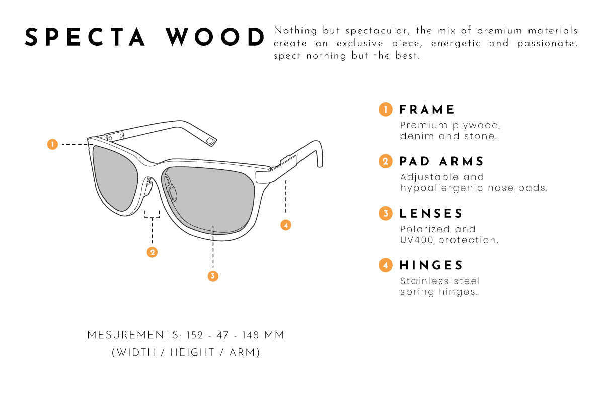Specta wood sunglasses
