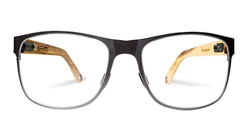 ALBURA METAL WOOD EYEGLASSES