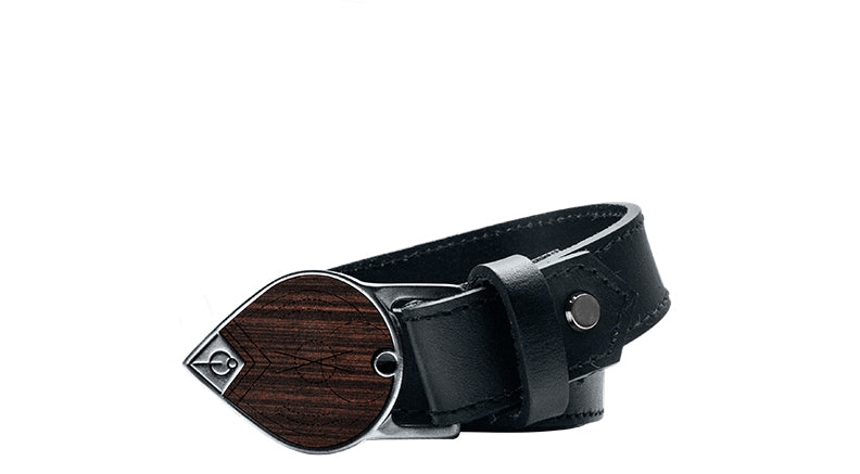 DROP LEATHER BELT