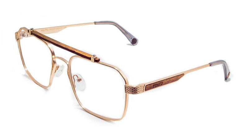 RIDER METAL WOOD EYEGLASSES