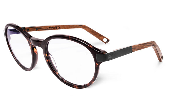 Tortoise /Teak - Black - Clear