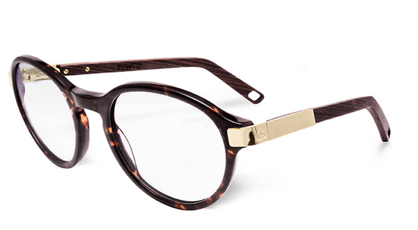 Tortoise/Wengue - Gold - Clear