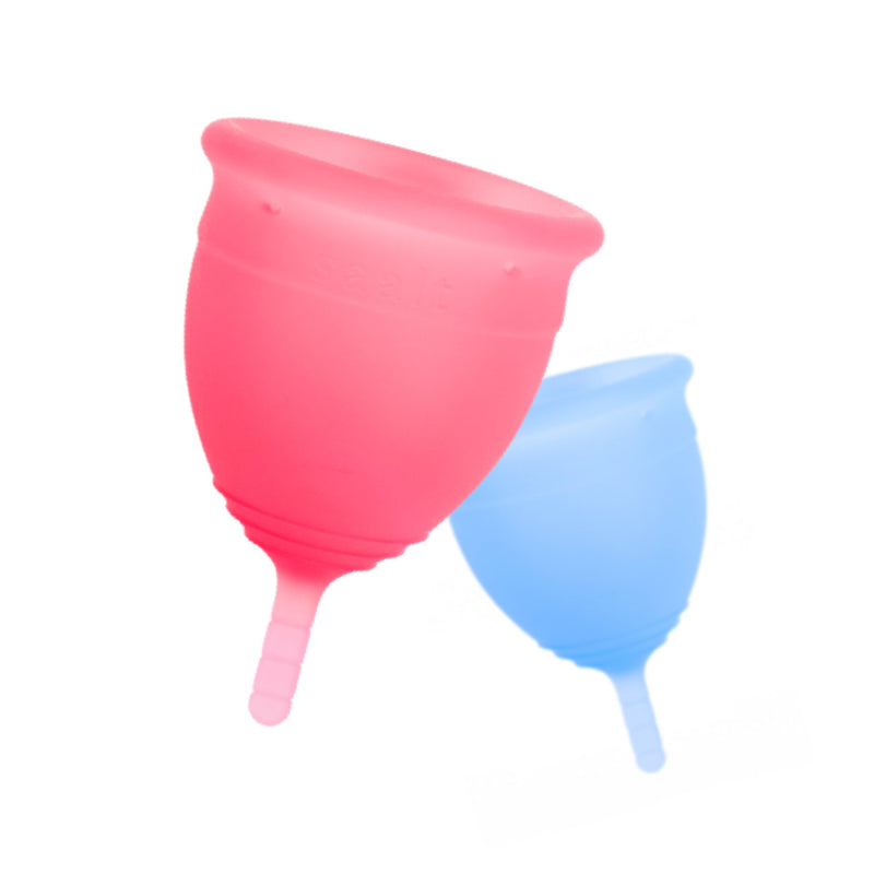 floating menstrual cups