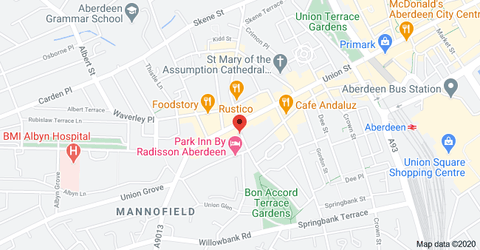CBD Oil Aberdeen Location