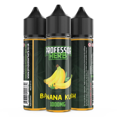 Buy Banana Kush 1000mg - CBD Vape Liquid UK