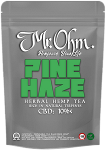 PINE HAZE - HERBAL HEMP TEA - 3gr 100% CBD Tea