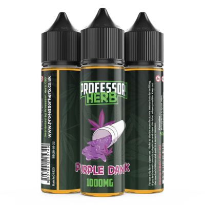 Buy Purple Dank 1000mg | CBD Vape Liquid | UK