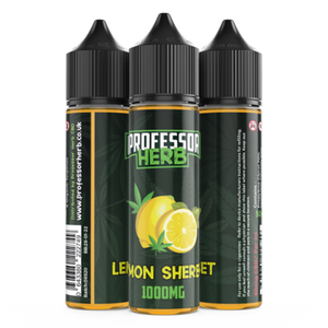 Buy Lemon Sherbet 1000mg - CBD Vape Liquid - UK