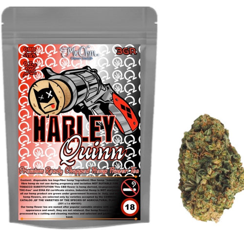Harley Quinn - PREMIUM HERBAL HEMP TEA - 3gr 100% CBD Tea