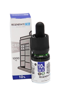 Buy Regenerate CBD | 10% CBD Oil Online | UK