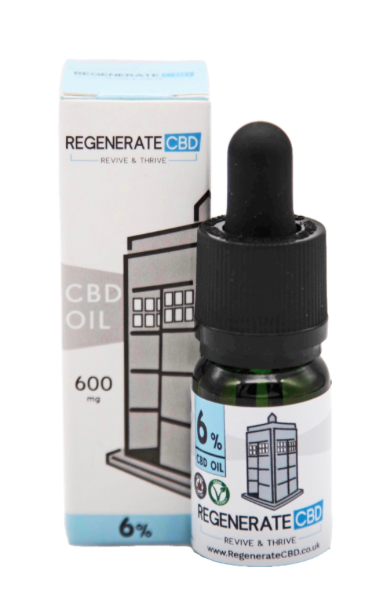 Buy Regenerate CBD | 6% CBD Oil Online | UK