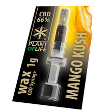 Load image into Gallery viewer, CBD Wax 66% | 1g