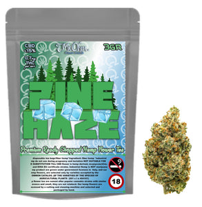 PINE HAZE - PREMIUM HERBAL HEMP TEA - 3gr 100% CBD Tea