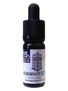 Regenerate CBD | 15% CBD Oil