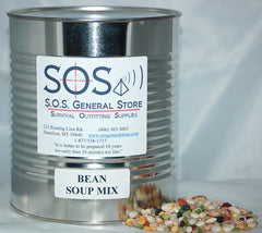 16 Bean Soup Mix - #10 Can