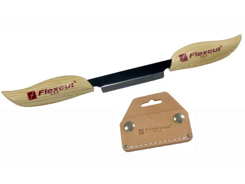 3 inch Draw Knife with Sheath by Flexcut Tool