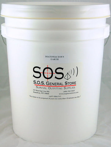 Diatomaceous Earth - 5 Gallon Bucket