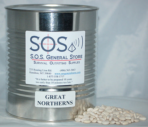 Great Northern Beans - #10 Can