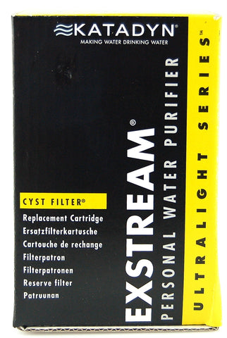Katadyn Exstream Cyst Filter Replacement Cartridge 2 PK