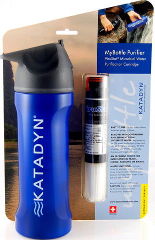 Katadyn MyBottle Personal Water Purifier - ViruStat Purification