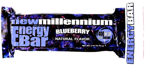 New Millenium Energy Bar - Blueberry