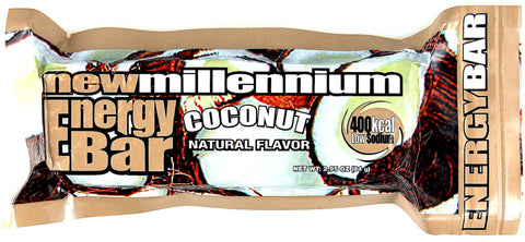 New Millenium Energy Bar - Coconut