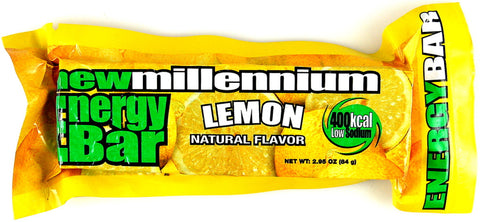 New Millenium Energy Bar - Lemon