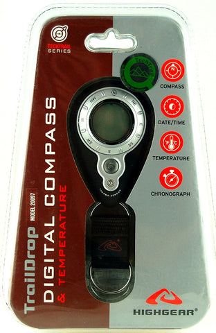 TrailDrop Digital Compass and Temperature