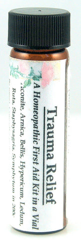 Trauma Relief Homeopathy