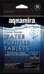 Aquamira Water Purifier Tablets - 12 Pack