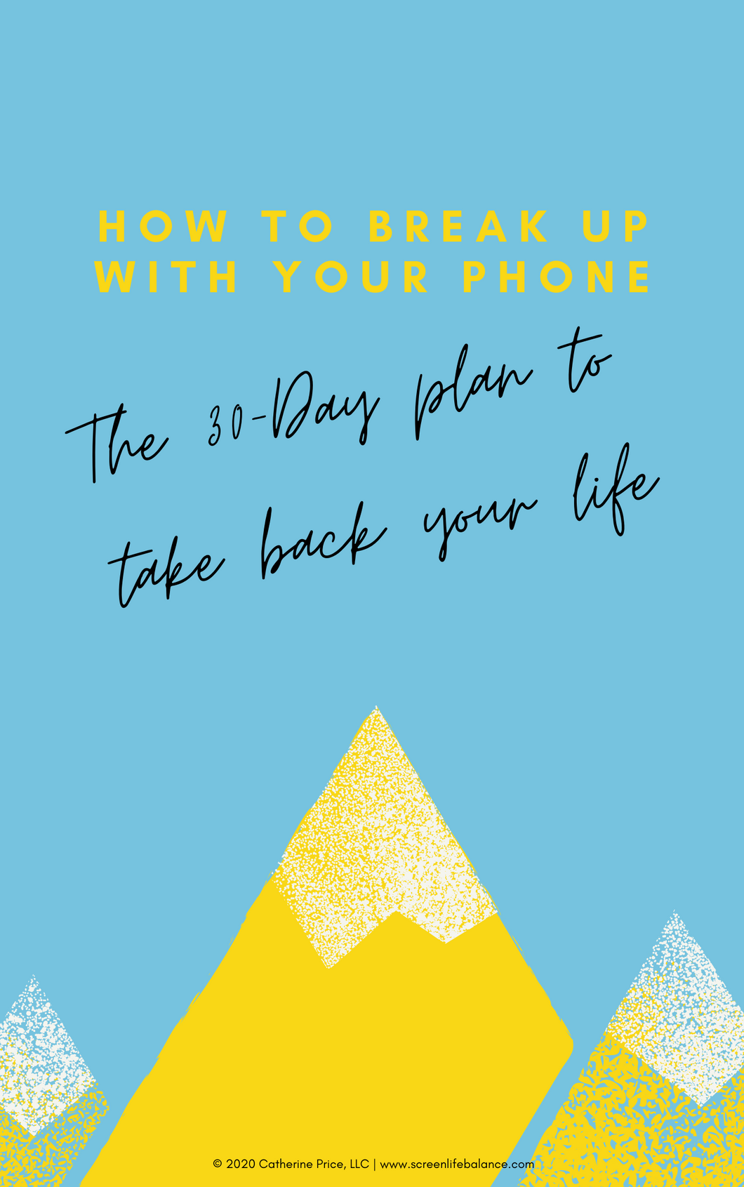 How to Break Up with Your Phone Companion Workbook (Digital Download)