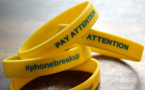 """Pay Attention"" Phone Bands"