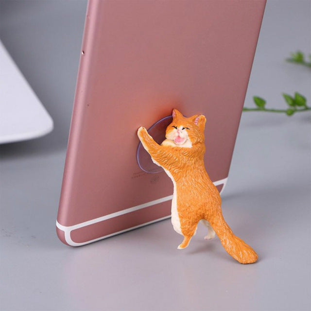 Wow Cute Cat Phone Holder !!!