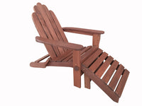 Fine Adiron Deck Chair With Ottoman Cjindustries Chair Design For Home Cjindustriesco