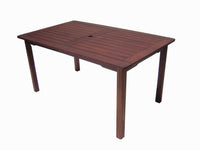 Malay Rectangular Dining Table 1.5m