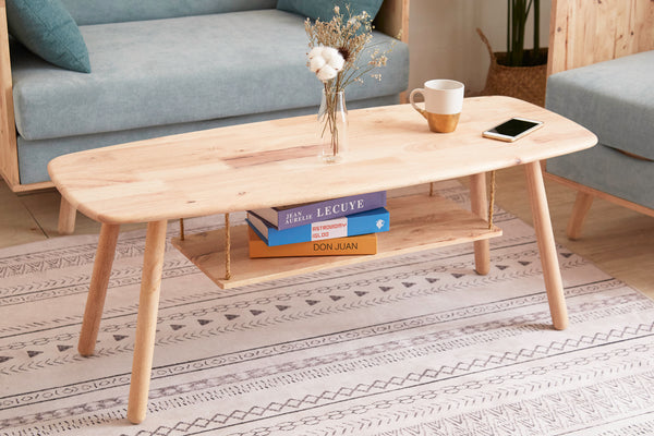 Small Paddle Coffee Table