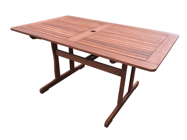 Tropical Rectangular Dining Table 1.5m