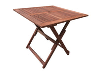 Island Square Folding Table 80cm